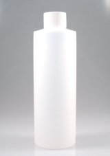 240ml Plastic Bottle with White Cap