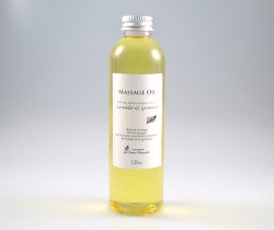 Photo1: Orange & Bergamot  -Uplifting-  Massage Oil
